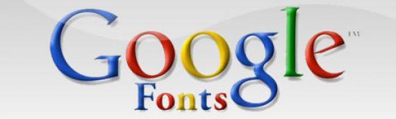 Google Fonts en tu página web