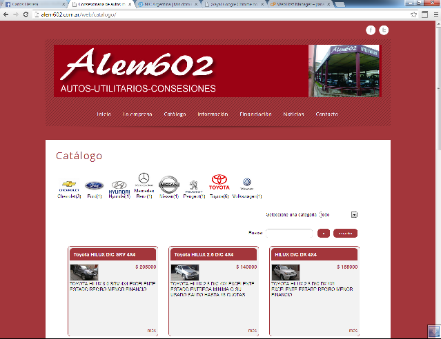 Nueva página web autoadministrable. - Hosting en Córdoba, Argentina ...