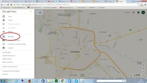 INgresar a my maps en Google Maps